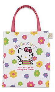 hello kitty rootote bag