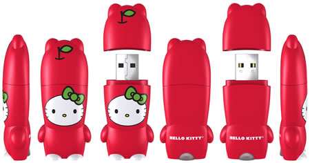 Hello Kitty Apple MIMOBOT 3dRender