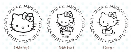 hello kitty custom stamps 1