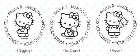 hello kitty custom stamps 2