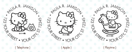 hello kitty custom stamps 3