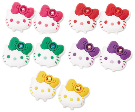 hello kitty earphones. Courtesy of Sanrio Store Japan, 1365 Yen