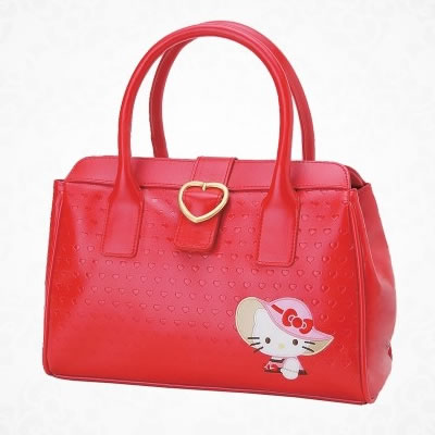 hello kitty heart handbag