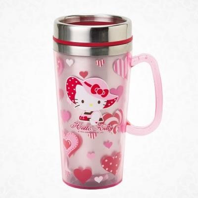 hello kitty heart mug