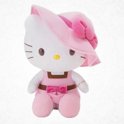 hello kitty heart plush
