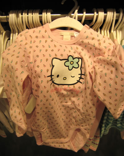 hello kitty bodysuit at H&M