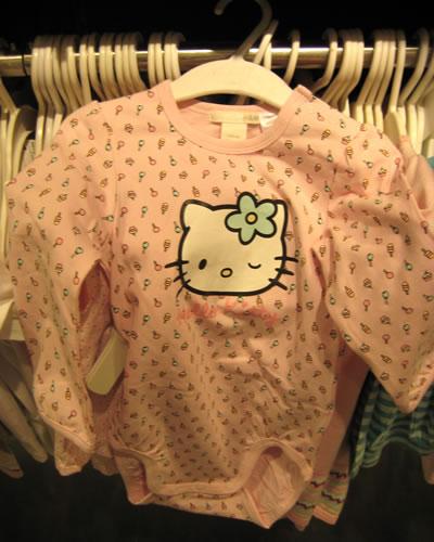 hello kitty bodysuit at H&M