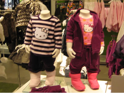 hello kitty clothes at H&M