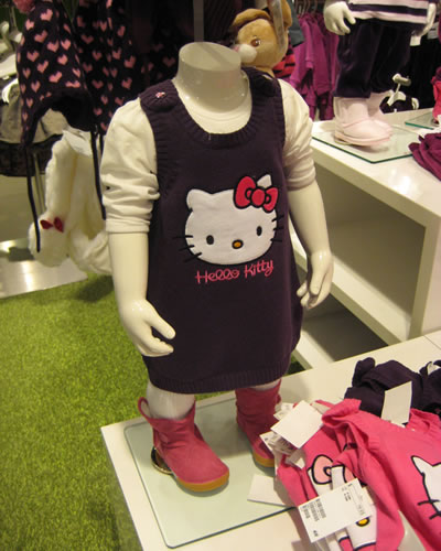 hello kitty dress at H&M
