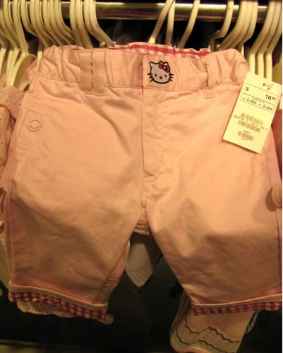 hello kitty pants at H&M