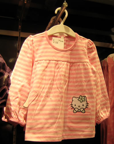 hello kitty shirt at H&M