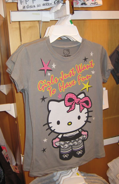 macys hello kitty t-shirt