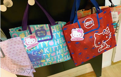 smileys hello kitty bags
