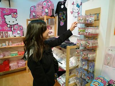 smileys hello kitty store