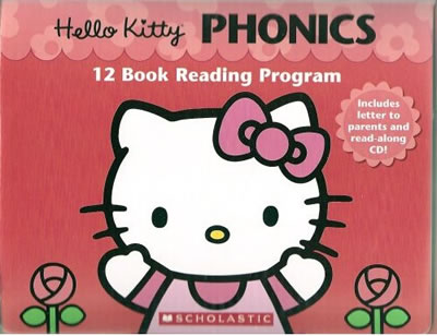 hello kitty phonics reading set