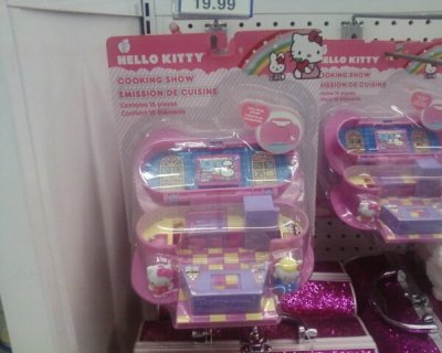 hello kitty cooking show toy