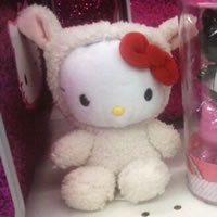 hello kitty lamb doll