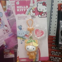 hello kitty tangerine clip