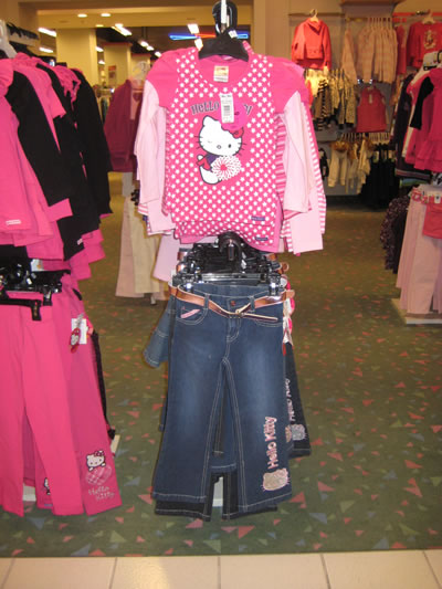 hudson's bay - hello kitty casual outfit
