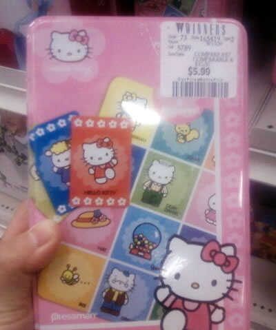 hello kitty bingo top