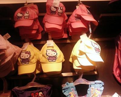 hello kitty H&M caps
