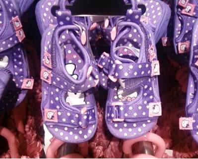 hello kitty H&M sandals