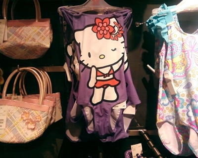 hello kitty h&m swimsuit