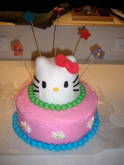 hello kitty birthday cake by jordan