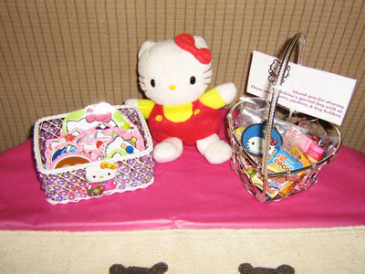 hello kitty party baskets