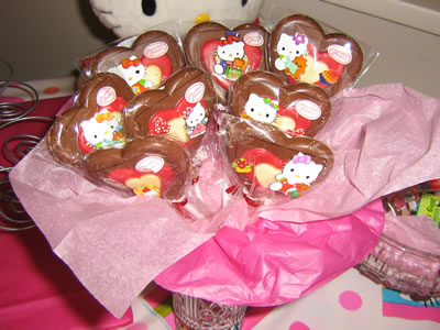hello kitty party lolipops