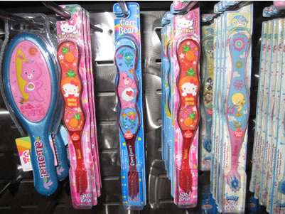 hello kitty toothbrushes