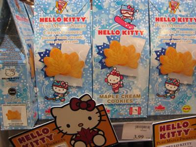 hello kitty maple cookies