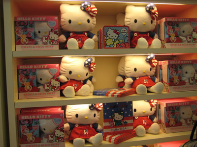 hello kitty at fao schwartz new york