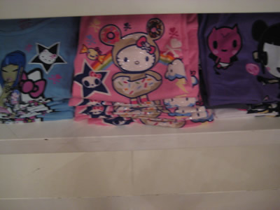 hello kitty tokidoki t-shirt NYC