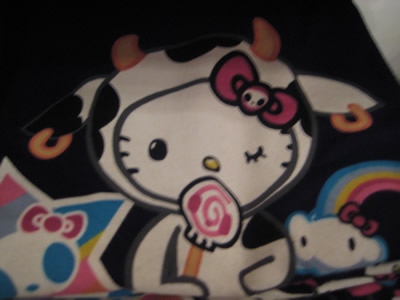 hello kitty tokidoki t-shirt NYC