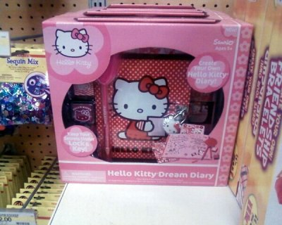 hello kitty dreams diary