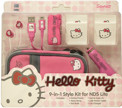 hello kitty ds lite kit