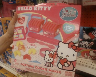 hello kitty fortune cookie maker