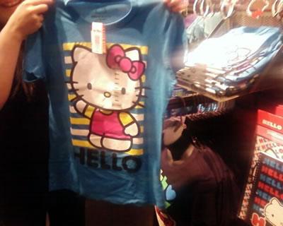 hello kitty HELLO t-shirt