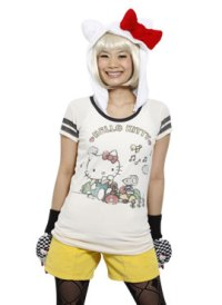 hello kitty play t-shirt