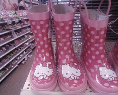 hello kitty rain boots