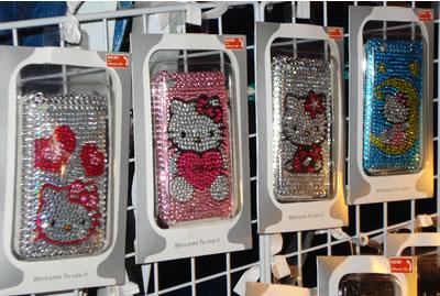 hello kitty iphone case shiny