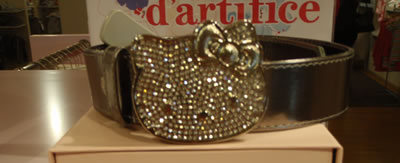 hello kitty paris belt