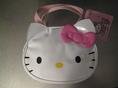 hello kitty travel kit front