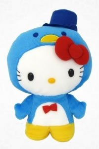 hello kitty as tuxedosam plush