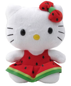 hello kitty beanie - watermelon