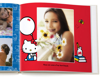 hello kitty photo book inside