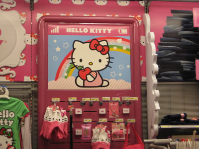 hello kitty clothing department