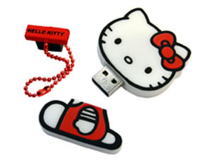 hello kitty flash memory drive
