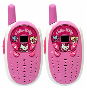 hello kitty walkie talkies